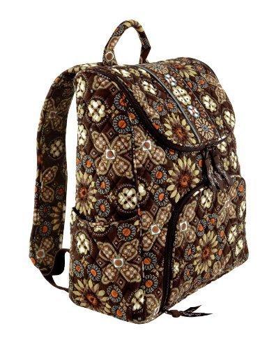 Vera Bradley Double Zip Backpack Canyon