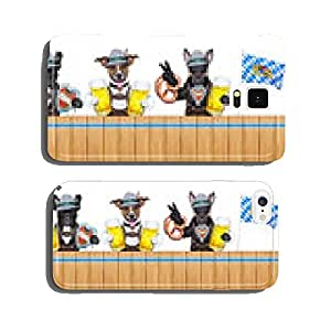 Bavarian dogs cell phone cover case Samsung S6