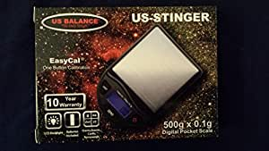 US Balance Digital Scale US-STINGER 500g x 0.1g