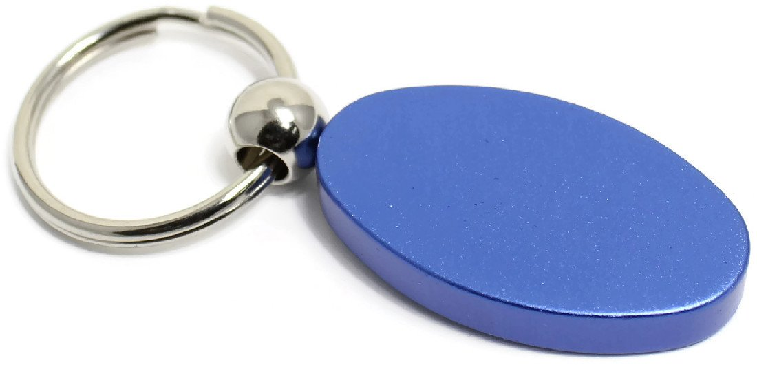 INC Au-Tomotive Gold Honda Element Blue Oval Key Chain Car Gift Fob
