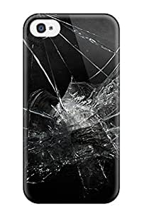 Durable Defender Case For Iphone 4/4s Tpu Cover(glass)