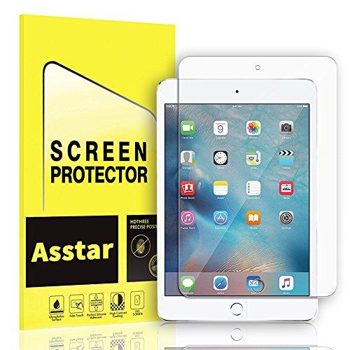 iPad Mini 4 Screen Protector, Asstar 0.3mm 9H Hardness 2.5D