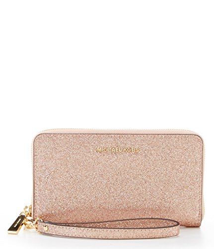 MICHAEL Michael Kors Large Flat Multifunction Phone Case, Color Rose Gold by Michael Kors