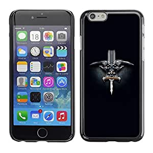 Be Good Phone Accessory // Dura Cáscara cubierta Protectora Caso Carcasa Funda de Protección para Apple Iphone 6 Plus 5.5 // Norwegian Viking Sword