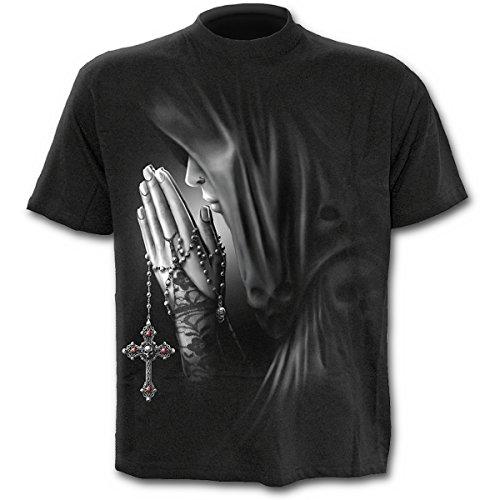 Spiral Exorcism T - Shirt, schwarz