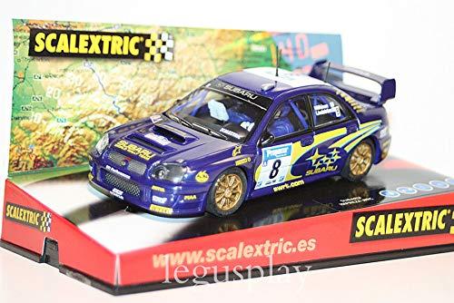 venta con descuento SCX SCX SCX Slot Scalextric 6123 Subaru Impreza WRC Swrt Nº8  selección larga