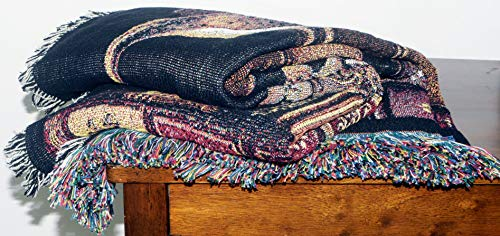 Pure Country Weavers''Frederick The Literate Blanket'' Tapestry Throw by Pure Country Inc. (Image #4)