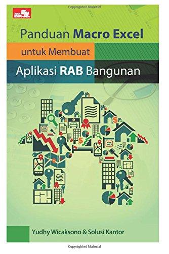 Panduan Macro Excel untuk Membuat Aplikasi RAB Bangunan (Indonesian Edition) pdf epub