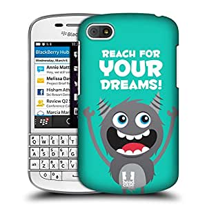 Head Case Designs Your Dreams Motivational Monsters Protective Snap-on Hard Back Case Cover for BlackBerry Q10