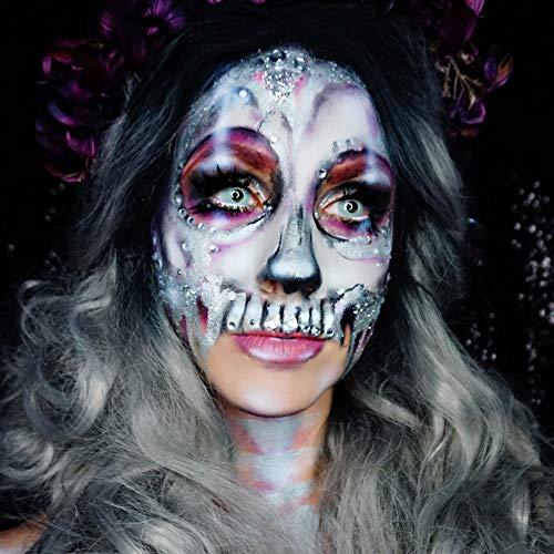 Mehron Makeup Paradise Makeup AQ Face & Body Paint (1.4 oz) (White)