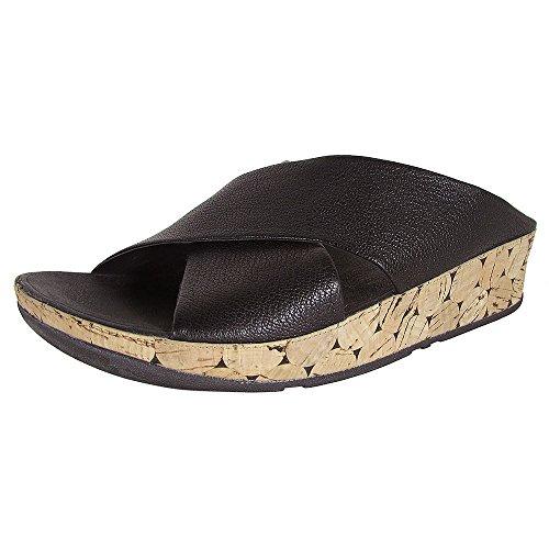 Dress Women's Fitflop Black Sandal Kys Leather All CStqw1t