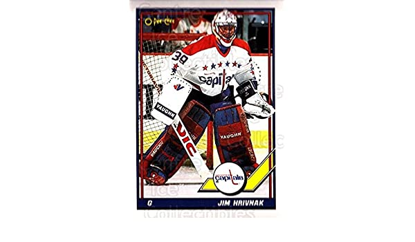 457733ee8f5 Amazon.com  (CI) Jim Hrivnak Hockey Card 1991-92 O-Pee-Chee (base) 487 Jim  Hrivnak  Collectibles   Fine Art