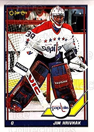 61de2381307 Amazon.com  (CI) Jim Hrivnak Hockey Card 1991-92 O-Pee-Chee (base ...