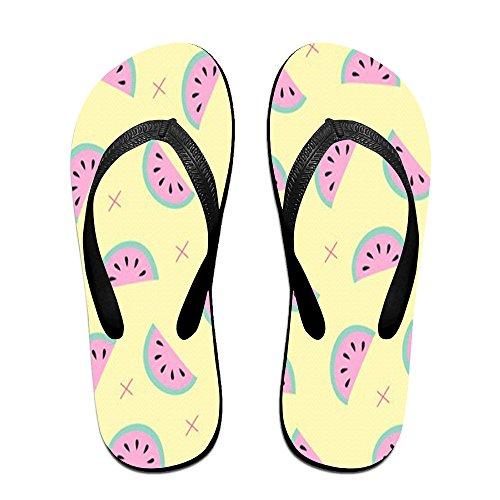 Price comparison product image Watermelon Print Women's Beach Flip Flop Sandals Breeze Sea Flip-Flop