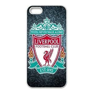 iPhone 5, 5S Phone Cases White Liverpool Logo LSDE5496682