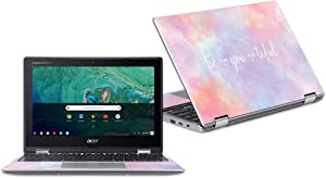 """Mightyskins Skin Compatible with Acer Chromebook Spin 11"""" Cp311 - BeYouTiful   Protective, Durable, and Unique Vinyl Decal Wrap Cover   Easy to Apply, Remove, and Change Styles   Made in The USA"""