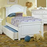 American Woodcrafters Cottage Traditions Full Panel Bed – Eggshell White
