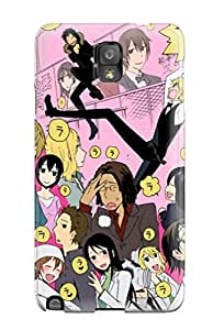 Flexible Tpu Back Case Cover For Galaxy Note 3 - Durarara