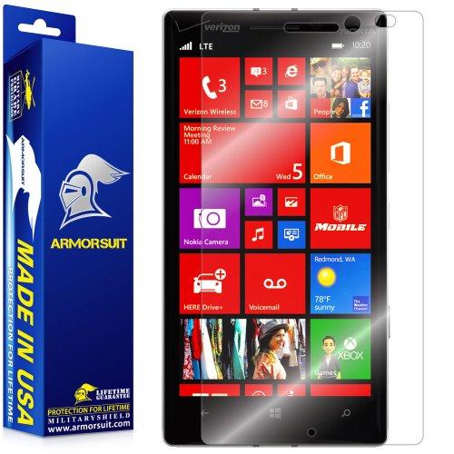 ArmorSuit Nokia Lumia Icon Screen Protector Max Coverage MilitaryShield Screen Protector for Nokia Lumia Icon - HD Clear Anti-Bubble Film ()