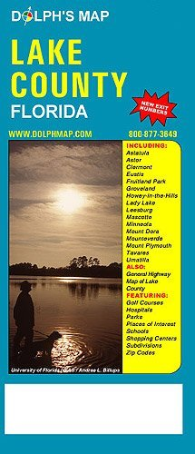 Florida Road Map 2015.Lake County Florida Road Map Dolph Map 9781932574838 Amazon Com