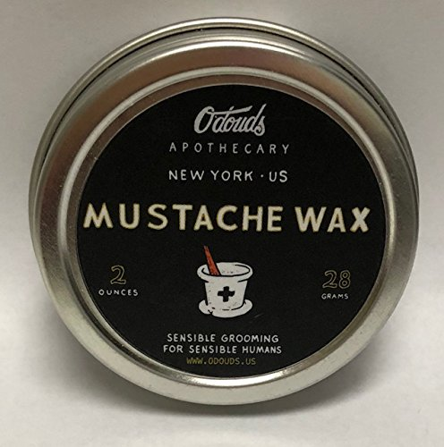 O'Douds – All Natural Bay Rum Mustache Wax (Medium / Firm Hold)