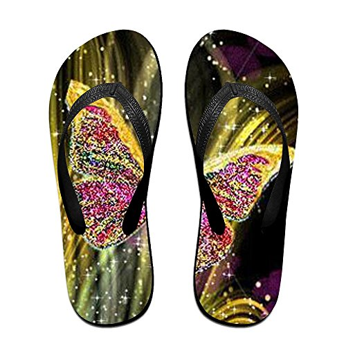 Slippers Flops for Women Butterfly Black Kids Blingbling PTJHKET Flip Men q4HwCx5A