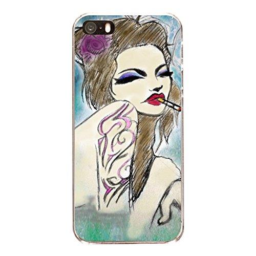 """Disagu Design Case Coque pour Apple iPhone SE Housse etui coque pochette """"Amanda"""""""