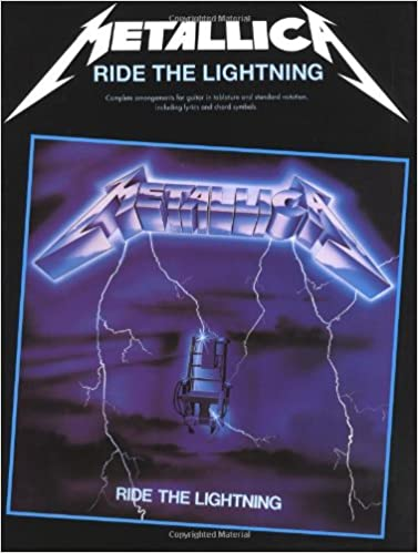 Metallica: Guitar TAB Edition: Ride the Lightning Guitar Tab Edition: Amazon.es: Metallica (Artist): Libros en idiomas extranjeros