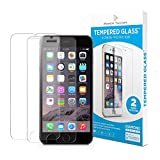 iPhone 7 & 8 Screen Protector [2-Pack] Premium Tempered Glass Screen Protector with Easy App Install Kit for Apple iPhone7 by Power Theory