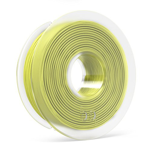 BQ F000127 – Filamento PLA de diámetro 1.75 mm, 300 g, color sulphur yellow