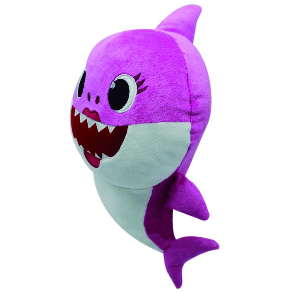 Baby Shark Bandai SS92513 Peluche Musicale Mommy Shark