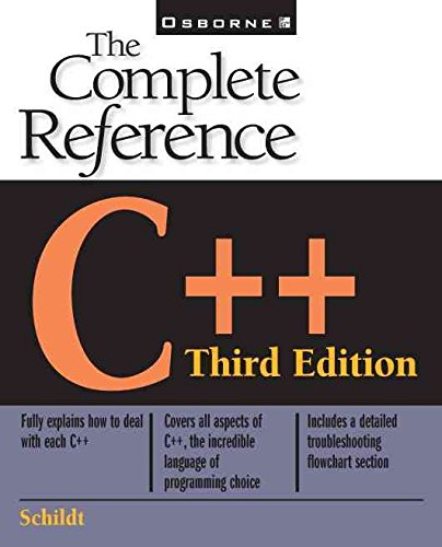[(C++ : The Complete Reference)] [By (author) Herbert Schildt] published on (September, 1998)