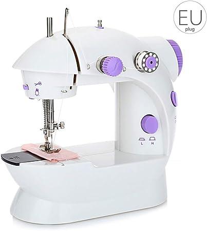 Busirde Mini máquinas de Coser eléctricas Portable Práctico hogar ...