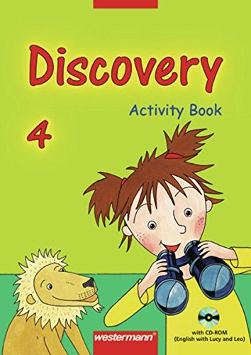 Discovery: Activity Book 4 mit CD-ROM