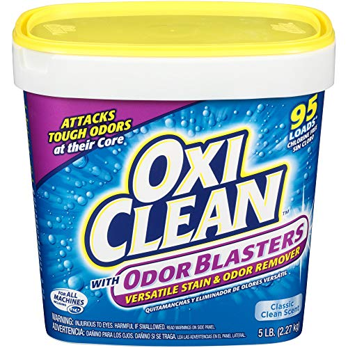 OxiClean Odor Blasters Stain & Odor Remover, 80 Ounce (Oxy Clean Stain Remover Powder)