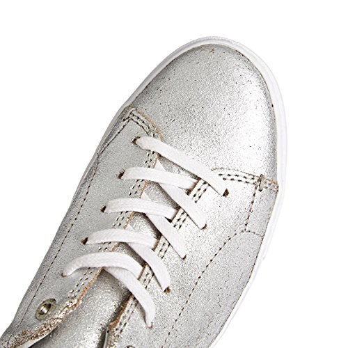Toms 10010839 Sneaker Lenox Argent Met, Argento, 35.5
