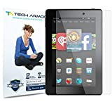 "Tech Armor Kindle Fire HD 7"" Screen Protector, Anti-Glare/Fingerprint Amazon Kindle Fire HD 7"" (Original/Kids) Film Screen Protector [3-Pack]"