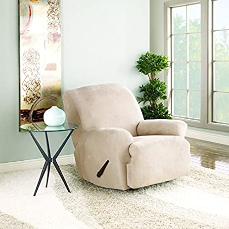 Sure Fit Stretch Suede - Recliner Slipcover - Taupe (SF35369) & Amazon.com: Sure Fit Stretch Suede - Recliner Slipcover - Taupe ... islam-shia.org
