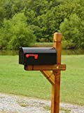 Fancy Western Mailbox Post