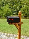 Fancy Western Mailbox Post