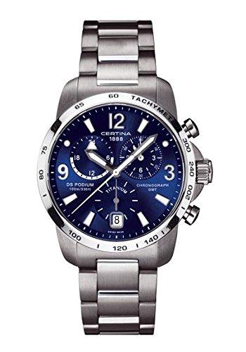 Certina - Wristwatch,Quartz Chronograph, Stainless Steel, Man 3