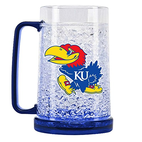 - NCAA Kansas Jayhawks 16oz Crystal Freezer Mug
