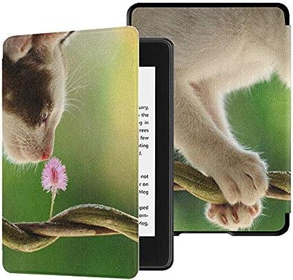 Kindle Paperwhite Reader Case Olor a Gato de Bella Flor Kindle ...