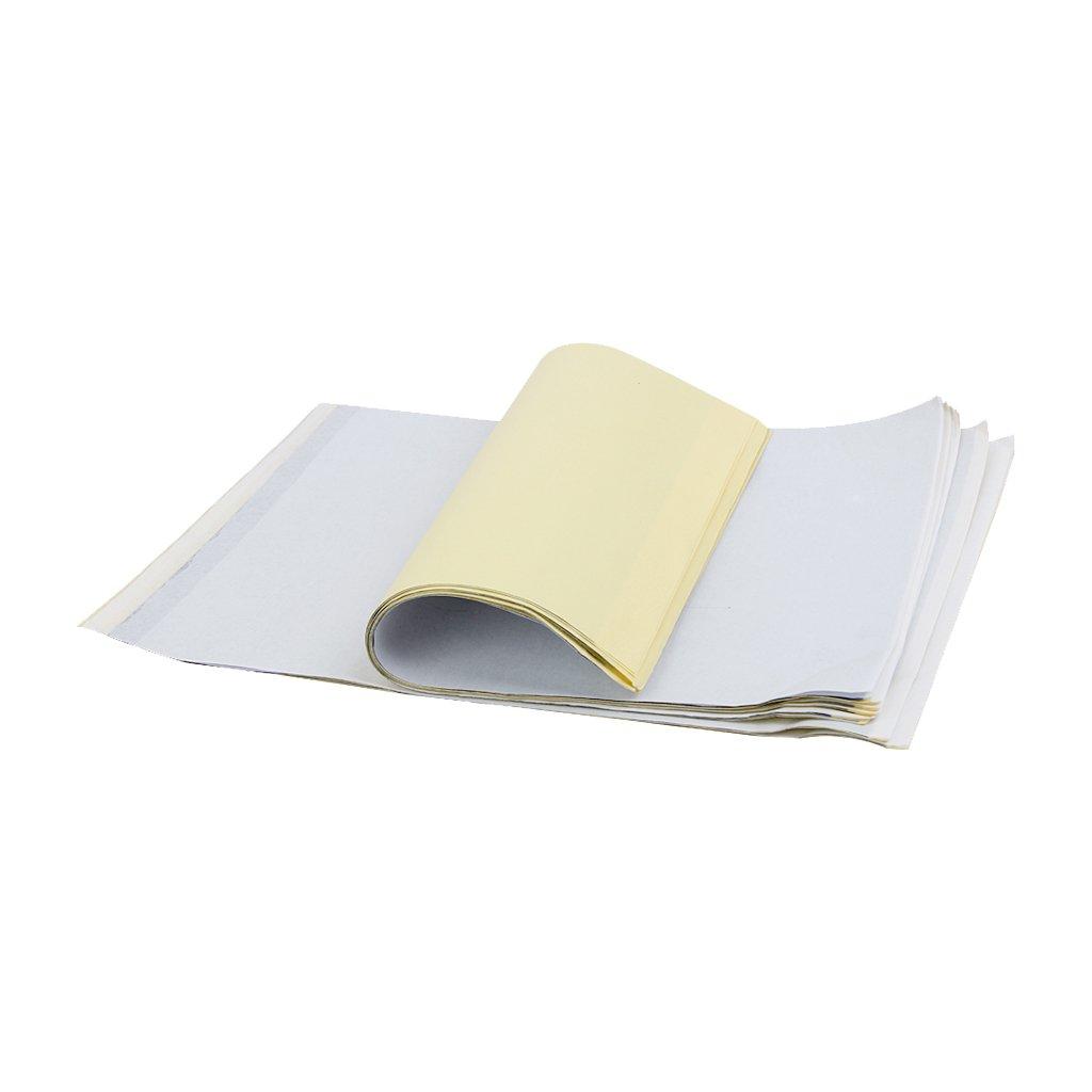 10pcs A3 Papier de Transfert Tatouage Pochoir de Carbone Thermique Papier Calque Kit