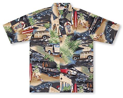 Shirt Hawaiian Go Barefoot (Go Barefoot Woody Hawaiian Shirt)