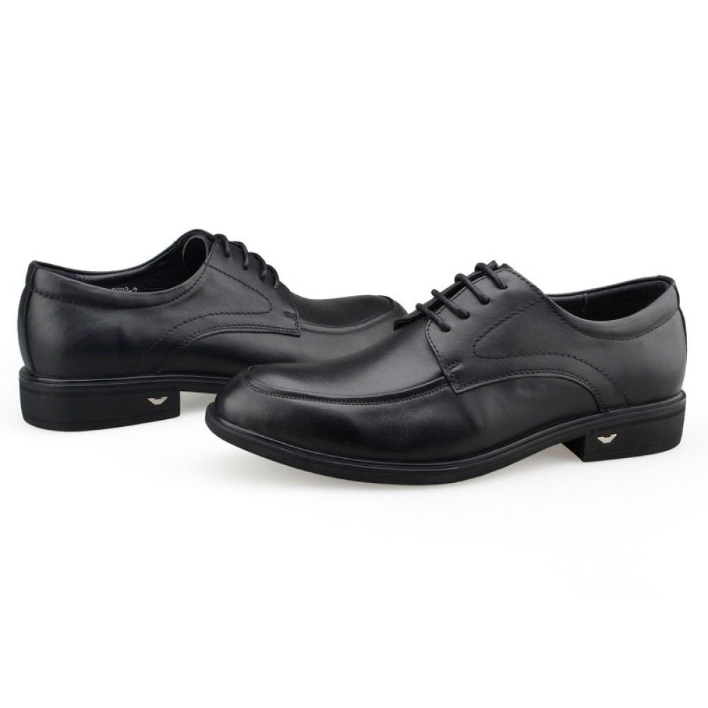 Herren Schwarz Leder Smart Hochzeit Lace up Kleid Büro Büro Büro Derby Formelle Schuhe Business Arbeit Abendgesellschaft Oxford Brogue Schuhe schwarz 4a52a7