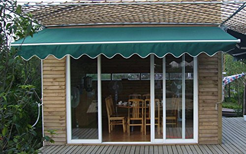 STRONG 16u0027w X10u0027d Outdoor Patio Cover Yard Awning Retractable Sun Shade  Shelter