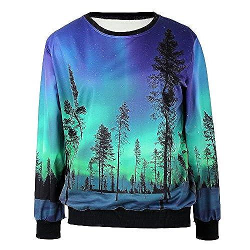 Galaxy Sweatshirt: Amazon.com