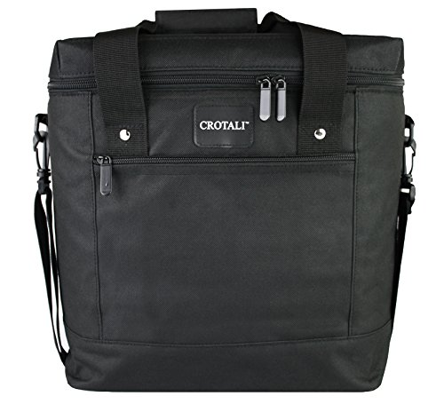 Price comparison product image Crotali Insulated Thermal Cooler Tote Bag - Transport Hot or Cold Items - Insulated for road trips, parties, picnics and other events