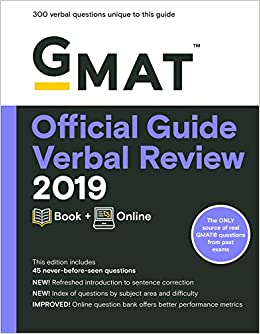 Pdf read free the official guide for gmat verbal review 2017 with onl….